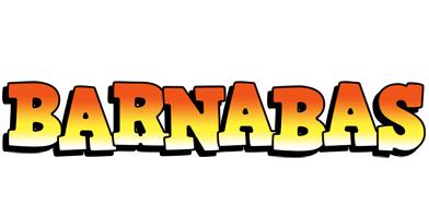 Barnabas sunset logo