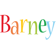 Barney birthday logo