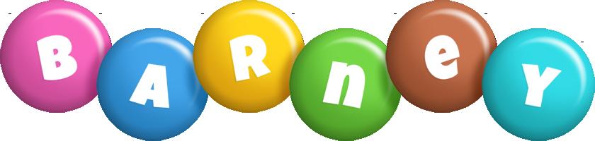 Barney candy logo
