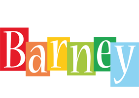 Barney colors logo