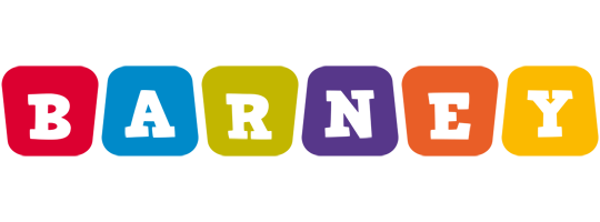 Barney daycare logo