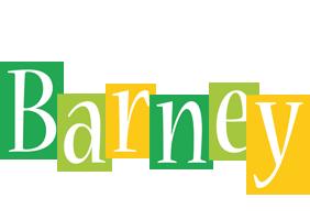 Barney lemonade logo