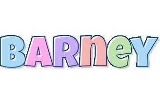 Barney pastel logo