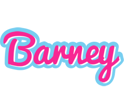 Barney popstar logo