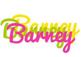 Barney sweets logo