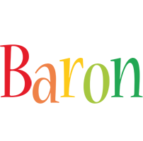 Baron birthday logo