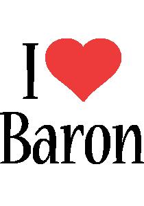Baron i-love logo