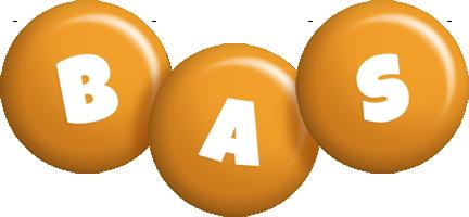 Bas candy-orange logo