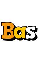 Bas cartoon logo