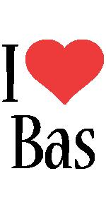 Bas i-love logo