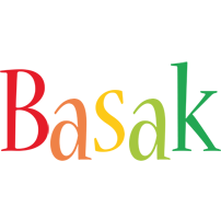 Basak birthday logo