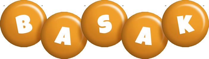 Basak candy-orange logo