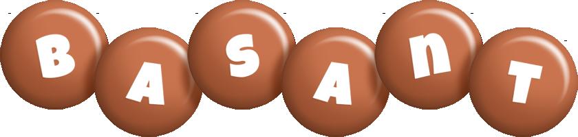 Basant candy-brown logo