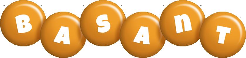 Basant candy-orange logo