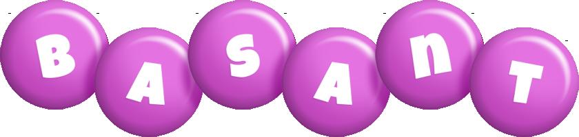 Basant candy-purple logo