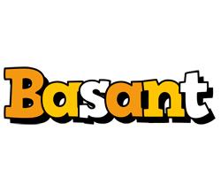 Basant cartoon logo