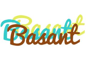 Basant cupcake logo