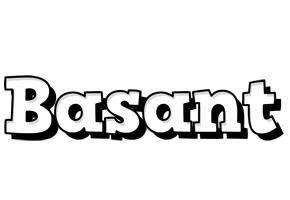 Basant snowing logo