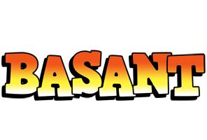 Basant sunset logo