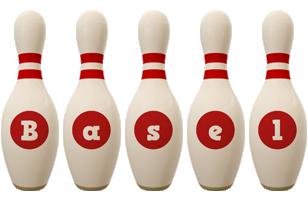Basel bowling-pin logo