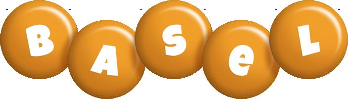 Basel candy-orange logo