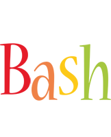 Bash birthday logo