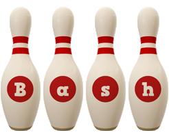 Bash bowling-pin logo