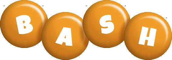 Bash candy-orange logo