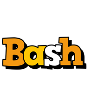Bash cartoon logo