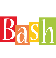 Bash colors logo