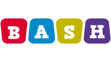 Bash daycare logo