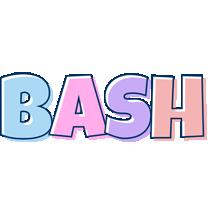 Bash pastel logo
