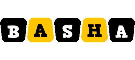 Basha boots logo