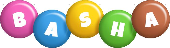 Basha candy logo