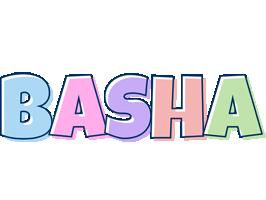 Basha pastel logo