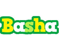 Basha soccer logo
