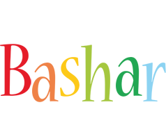 Bashar birthday logo