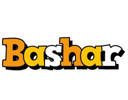Bashar cartoon logo