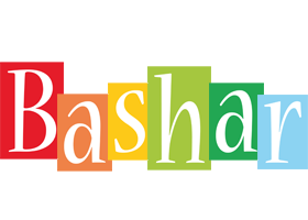 Bashar colors logo