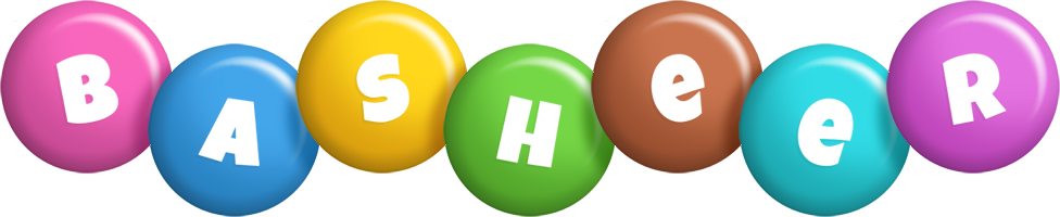 Basheer candy logo