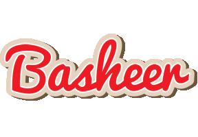 Basheer chocolate logo