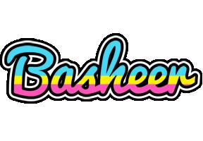 Basheer circus logo