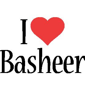 Basheer i-love logo