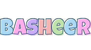 Basheer pastel logo