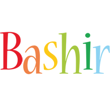 Bashir birthday logo