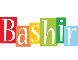 Bashir colors logo