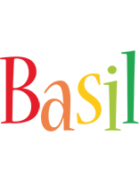 Basil birthday logo