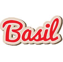 Basil chocolate logo