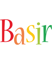 Basir birthday logo