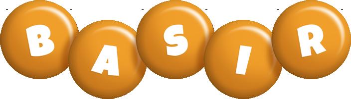 Basir candy-orange logo